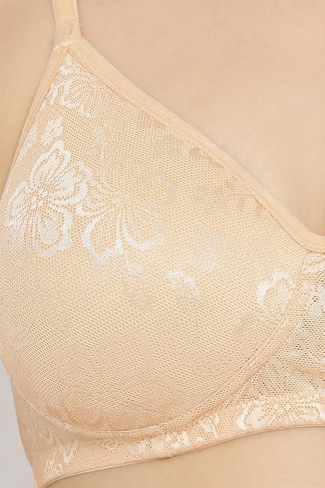 Womens Lace Padded Non Wired T-Shirt Bra