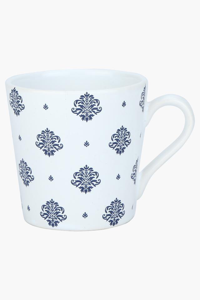 Round Ethnic Printed Coffee Mug