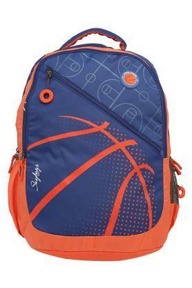 Unisex 3 Compartment Zip Closure Backpack