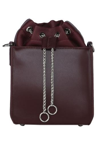 RHESON -  Maroon Handbags - Main