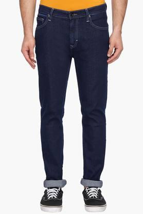 LEE Mens Skinny Fit Rinse Wash Jeans (Bruce Fit)