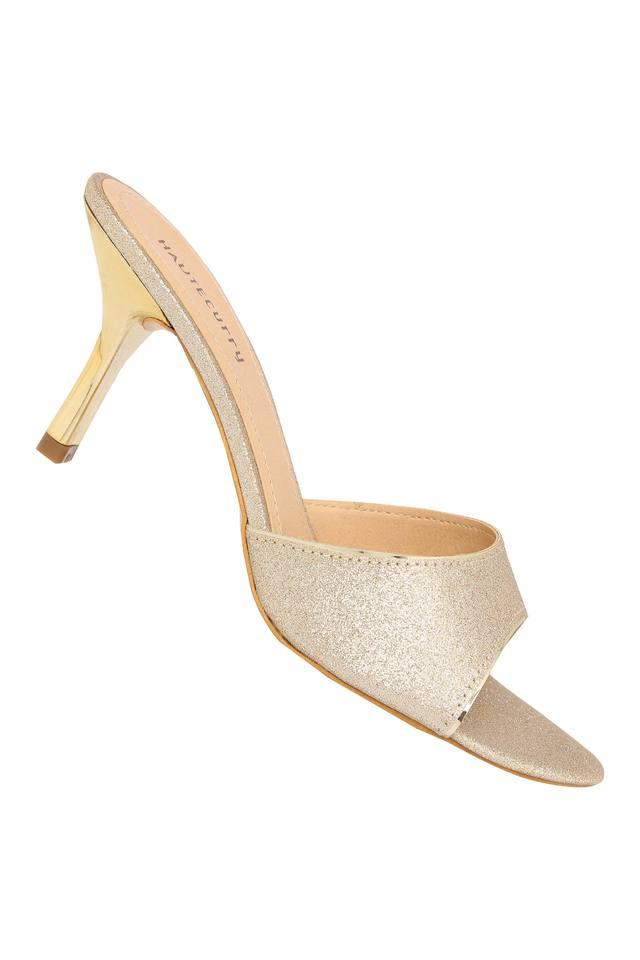Womens Party Wear Slipon Heels