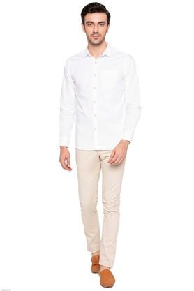 LIFE - White Casual Shirts - 3