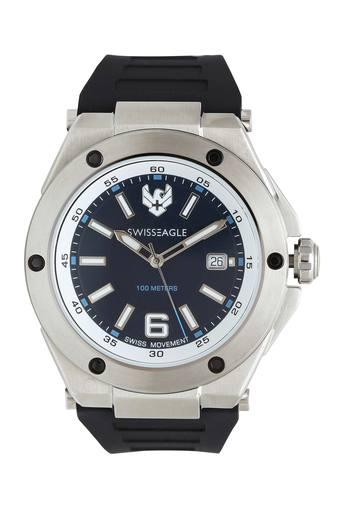 Mens Analogue Blue Dial Watch - 9139-02