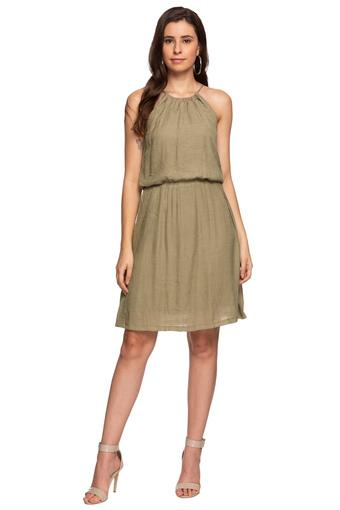 ZINK LONDON -  Olive Dresses - Main