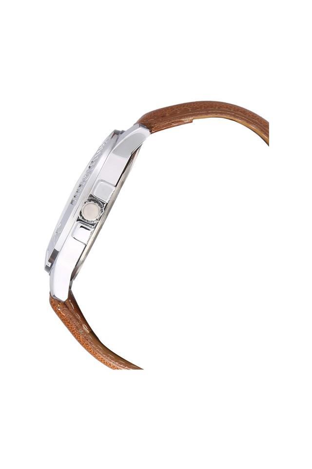 Mens Eco Series Brown Dial Analog Watch - HR717MLBR77