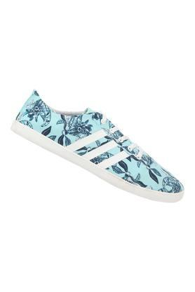 Womens Canvas Laceup Sneakers
