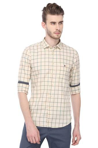 LOUIS PHILIPPE JEANS -  Beige Shirts - Main