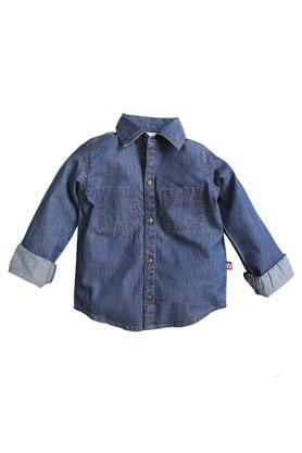 Boys Regular Fit Collared Assorted Shirt