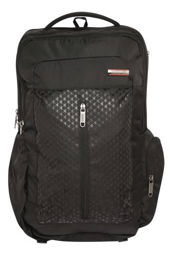 Unisex 3 Compartment Zip Closure Laptop Backpack