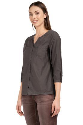 Womens Solid Shirt
