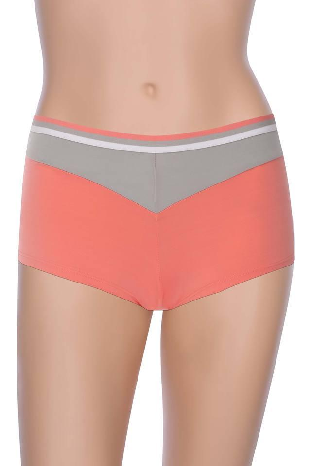 Womens Colour Block Boy Shorts