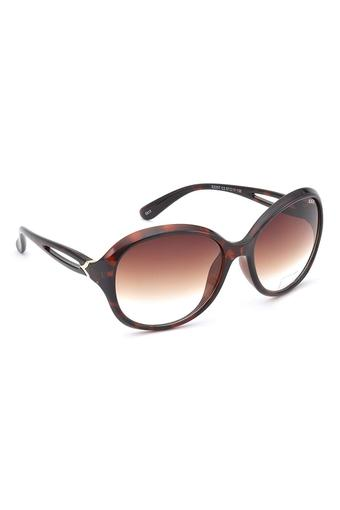 Womens Oversized Gradient Sunglasses