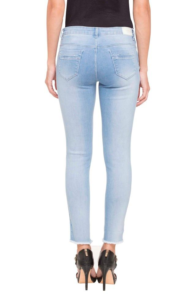 Womens Distressed Jeans