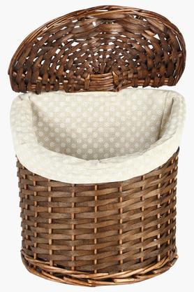 Semi Willow Natural Basket - 20cm