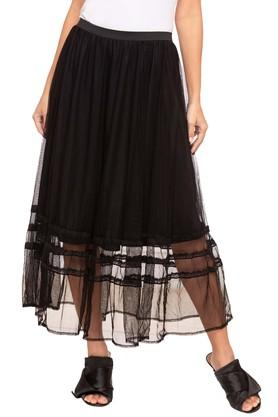 109FWomens Lace Casual Skirt