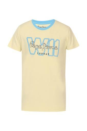 Boys Round Neck Graphic Print Tee 1