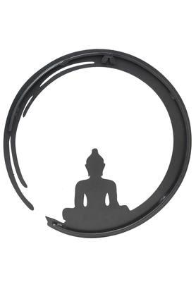 Round Buddha Circle Wall Decor