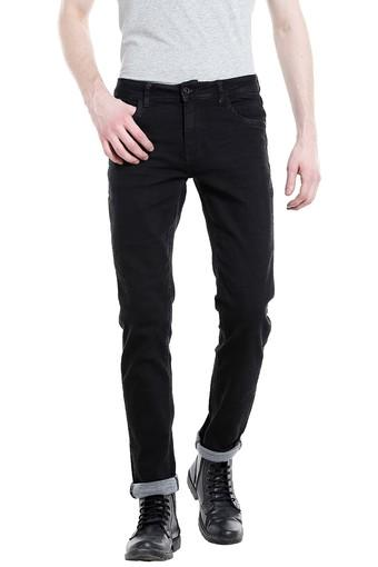 REX STRAUT JEANS -  Charcoal Black Jeans - Main