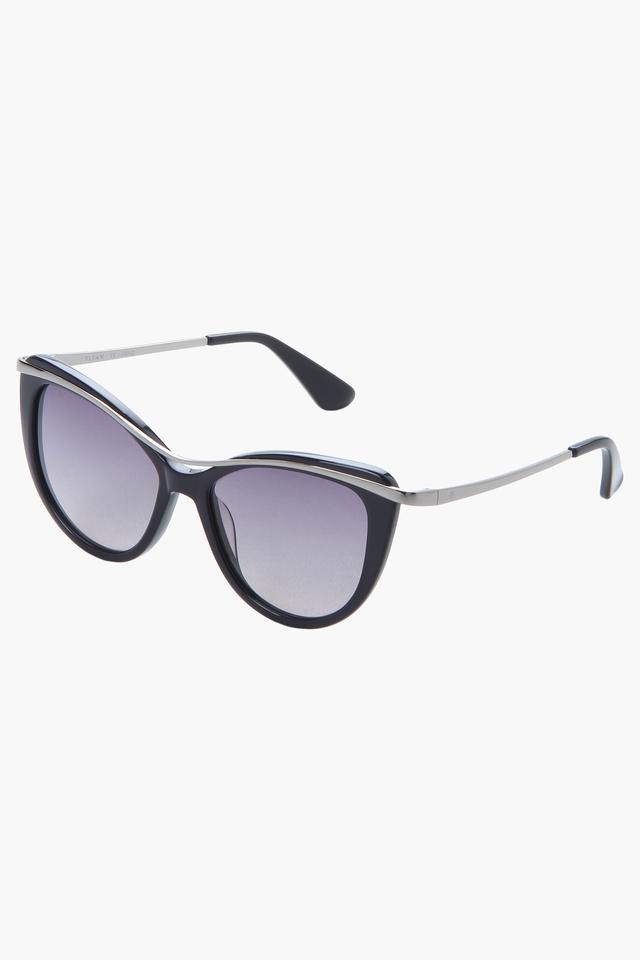 Womens Full Rim Cat Eye Sunglasses - GC297BK3FP