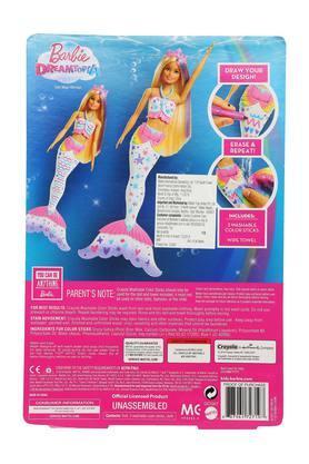 Unisex Colour Magic Mermaid Barbie Doll Play Set