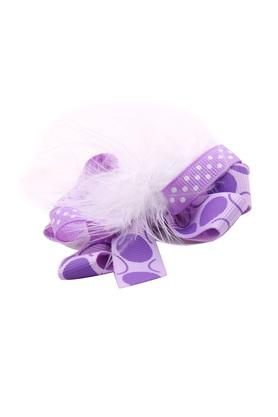 Girls Printed Feathers Hair Clip