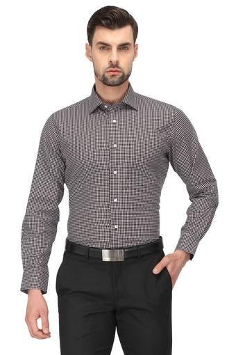 VAN HEUSEN -  Brown Mix Shirts - Main
