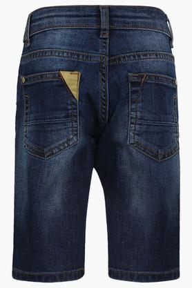 Boys 5 Pocket Mild Wash Shorts