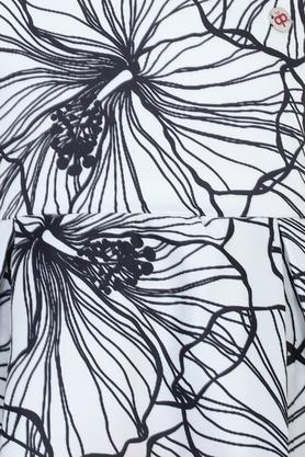 Girls Round Neck Floral Print Dress
