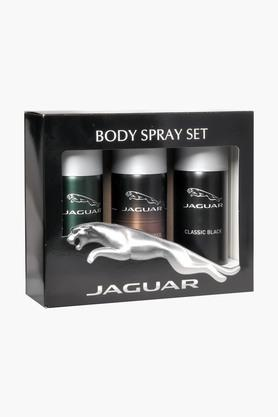Classic Amber and Classic Black Body Spray For Men - 150ml - Pack Of 3