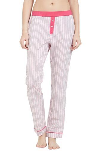 Womens 2 Pocket Stripe Pyjamas
