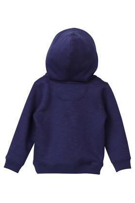 Girls Hooded Slub Sweatshirt
