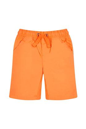 Boys Solid Elasticated Shorts