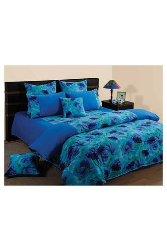 Floral Printed Double Bed Quilt