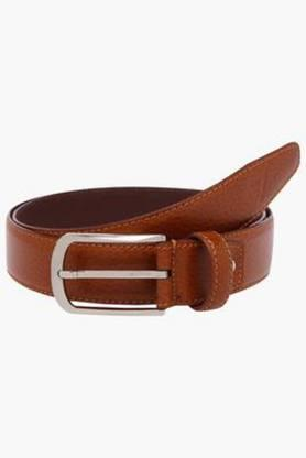 VETTORIO FRATINI Mens Leather Buckle Closure Formal Belt - 202994963
