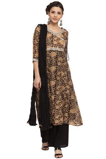 KASHISH -  BlackSalwar & Churidar Suits - Main