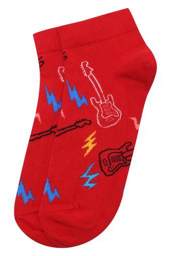 Mens Ankle Length Guitarra Socks
