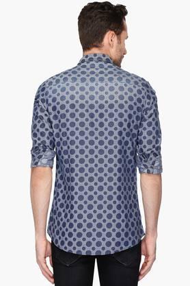 Mens Slim Fit Printed Shirt