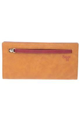 Womens Snap Closure 1 Fold Wallet