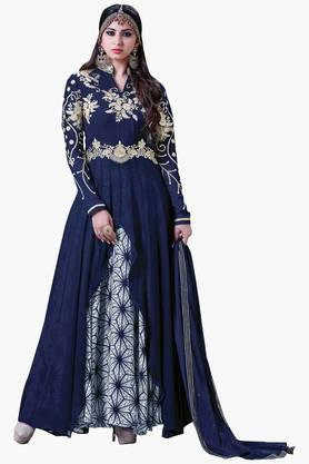 VRITIKA Womens Georgette Anarkali Suit