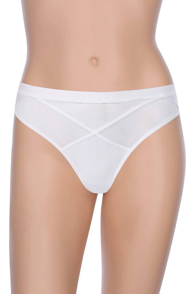 Womens Lace Pattern Regular Briefs