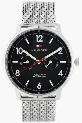 TOMMY HILFIGERBlue Dial Stainless Steel Strap Watch - TH1791354J