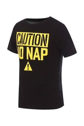 Boys Round Neck Graphic Print T-Shirt