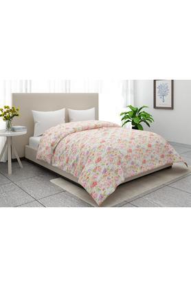 Floral Print Single Blanket