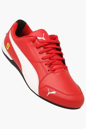 PUMA Mens Leather Lace Up Sports Shoes - 203325363