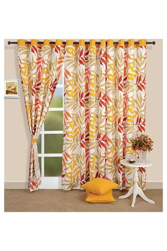 Printed Long Door Curtain