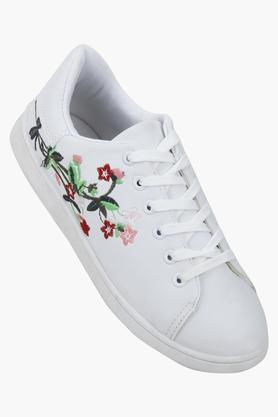 TRUFFLE COLLECTION Womens Casual Wear Lace Up Sneakers - 203748503