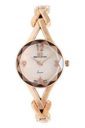 Womens Round Dial Analogue Watch - G2126-33