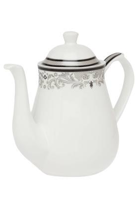 IVY Round Clara Printed Tea Pot With Lid