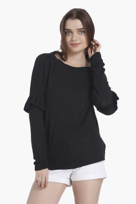 VERO MODA Womens Round Neck Knitted Sweater